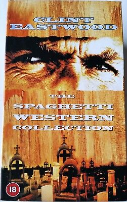 Clint Eastwood The Spaghetti Western Collection VHS