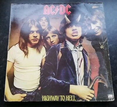 Ac/dc - Highway To Hell Lp K 50628 Atlantic 1979 Vg!