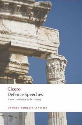 Defence Speeches by Cicero 9780199537907 (Paperback, 2008)