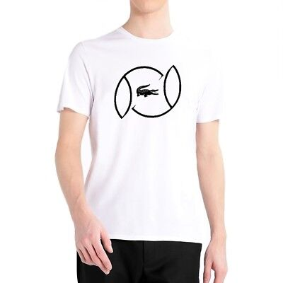Blanc T Lacoste Col L Rond 00 Xl S Homme Xxl Th3341 Taille Shirt M a0nxaqA