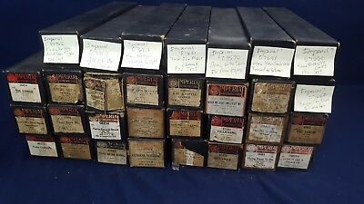 Lot 31 Vintage Imperial Piano Player Rolls Original Mostly Fox Trot