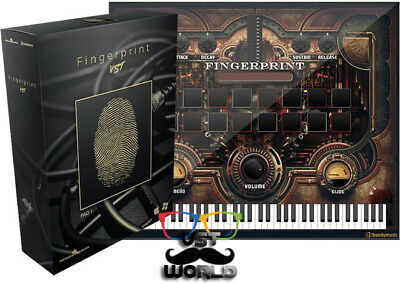 FingerPrint VST Plugin With 2 EXPANSIONS - ( WIN & MACOS ) eDelivery