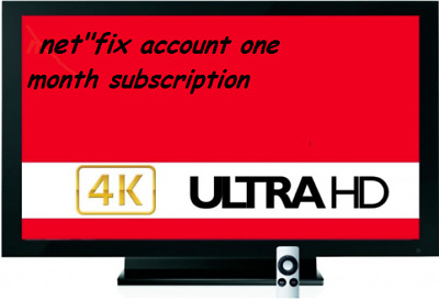 1 Month Subscription & Warranty 4K - ULTRA HD watch unlimed new movie's