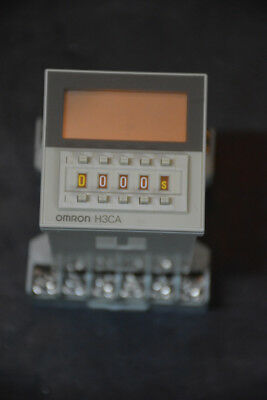 Omron H3CA-A Timer with Socket