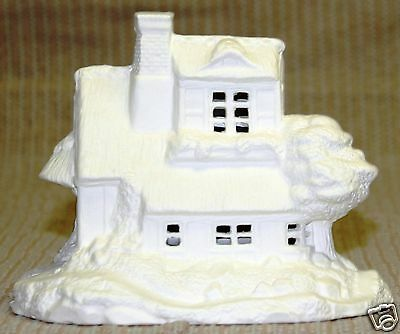 Ceramic Bisque Village Country Cottage Duncan Mold 959 U-Paint Ready To Paint