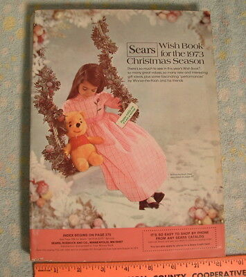 1973 Sears Christmas Wish Book Catalog   **615 Pages of Fun!