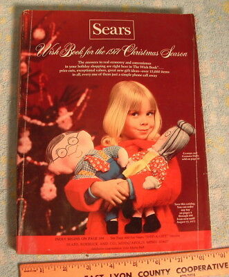 1971 Sears Christmas Wish Book Catalog   **619 Pages of Fun!