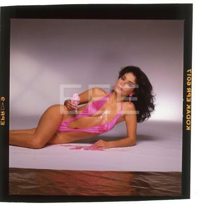 Apollonia Kotero Harry Langdon Transparency w/rights 36P