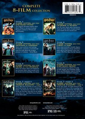 Harry Potter Complete 8-Film Collection (DVD, 2011, 8-Disc Set) SHIPPING's FREE!