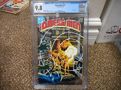 Omega Men 10 cgc 9.8 1st full Lobo story appearance DC 1984 MINT WHITE pgs movie