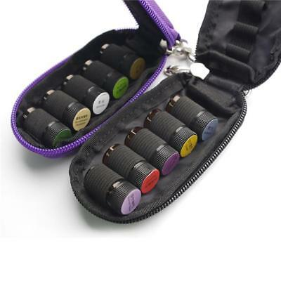 10 Essential Oil Carrying Case Bag Storage Box for 10 Slots Bottles Travel NEW L