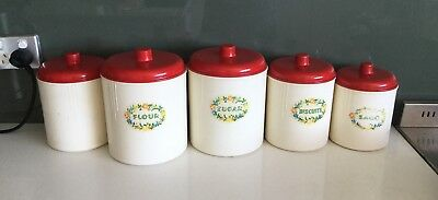 Vintage canisters EON