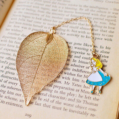 Metal Cartoon Bookmarks For Books Office Accessories Shool Stationery L