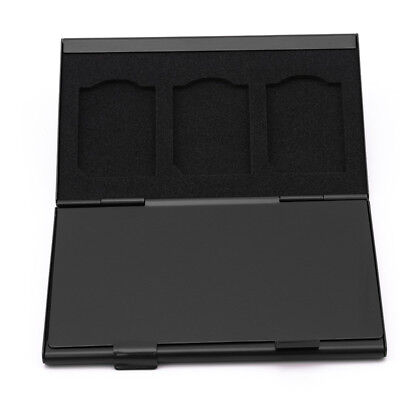 Micro SD Memory Card Storage Holder Box Protector Metal Cases L