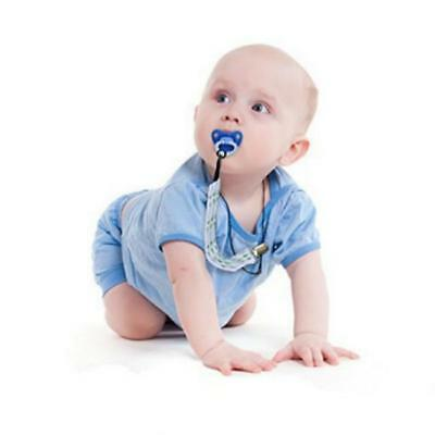 Baby Boy Girl Dummy Pacifier Soother Nipple Leash Strap Chain Clip Holder Gift L