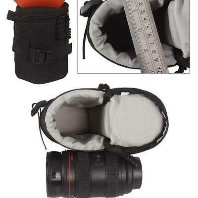 Camera Lens Bag Case Waterproof Slr Pouch Backpack Padded Insert Protector L