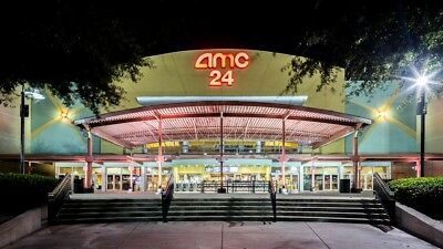 1 AMC BLACK Ticket & 1 large drink / Tickets Never Expires .