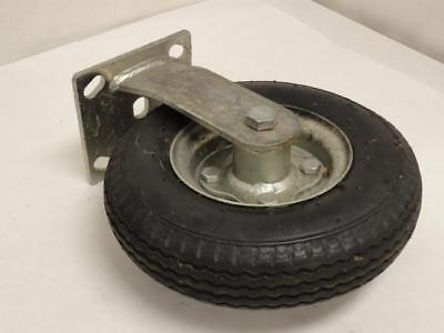 172802 Old-Stock, MFG- 2.80/2.50-4-RIGID Pneumatic Caster Wheel, Rigid Plate