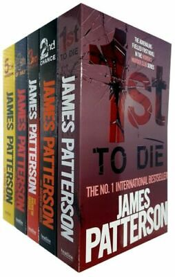 Women's Murder Club Series 1 by James Patterson 1-5 books Collection Set Pack
