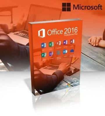 ✓ INSTANT Microsoft Office 365 For Windows Mac Pro Plus - 5 Devices 💥