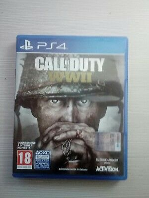 Call Of Duty Wwii Ps4 - Usato Playstation 4 Gioco