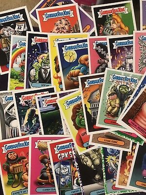 """Colloectible Garbage Pail Kids Trading Cards """"all Cards In Pictures Sold As Lot"""