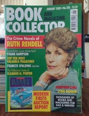 Book and Magazine Collector #226 Jan 03  Ruth Rendell