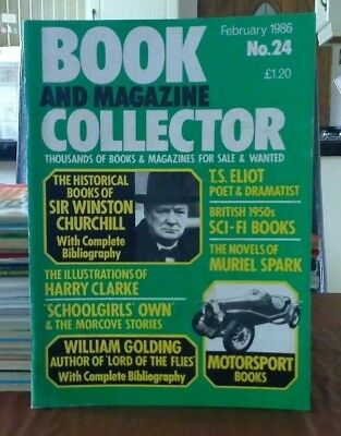 Book and Magazine Collector #24 Feb 86 Winston Churchill William Golding