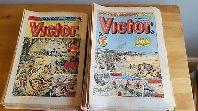 Collection Victor Comics from 1976 full year x 51 issues 3.1.76 to 25/12. 1976