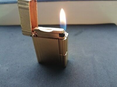 Dupont Lighter - Gold - Working - Made In France - Rare