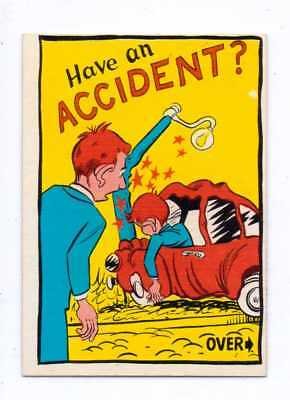 1961 Donruss Idiot Card #54 Have An Accident Nm