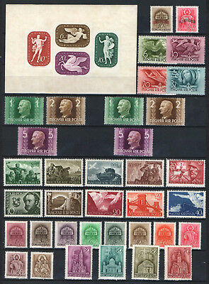 Hungary 1941. Complete Year Stamp Collection ! Mnh (**)