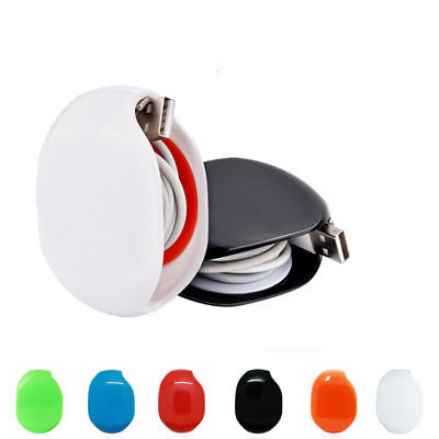 Automatic Headphone Earphone USB Cable Cord Wire  Line Organizer Winder Wrap ZL1