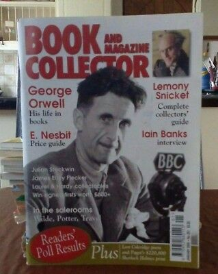 Book and Magazine Collector #251 Jan 05 George Orwell Julian Stockwin Iain Banks