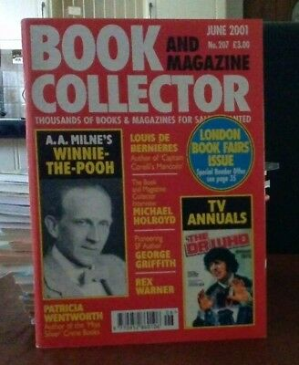 Book and Magazine Collector #207 June 01 A A Milne Petricia Wentworth