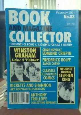 Book and Magazine Collector #83 Feb 91 Stephen King
