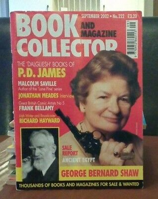 Book and Magazine Collector #222 Sept 02 P D James