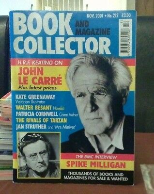 Book and Magazine Collector #212 Nov 01 John Le Carre Patricia Cornwell