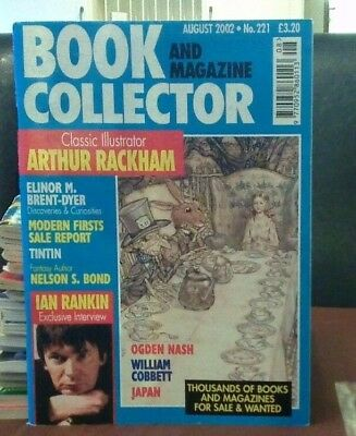 Book and Magazine Collector #221 Aug 02 Elinor Brent Dyer  Ian Rankin