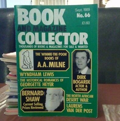 Book and Magazine Collector #66 Sept 89 A A Milne