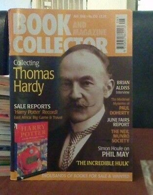 Book and Magazine Collector #233 Aug 03 Harry Potter Record Sale