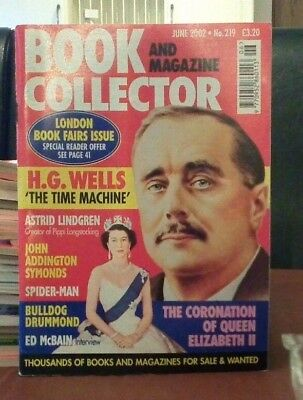 Book and Magazine Collector #219 June 02 H G Wells Ed McBain