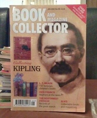Book and Magazine Collector #290 Jan 08 Kipling Dick Francis Elvis