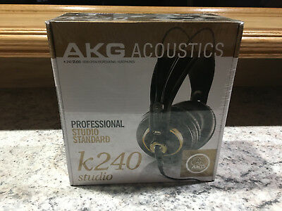 AKG K240 - STUDIO Headphones - Black - BRAND NEW ITEM --