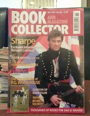 Book and Magazine Collector #236 Nov 03 Bernard Cornwell  P G Woodhouse