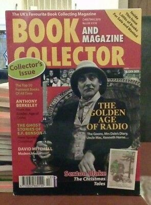 Book and Magazine Collector #328 Xmas 10 Sexton Blake Anthony Berkley
