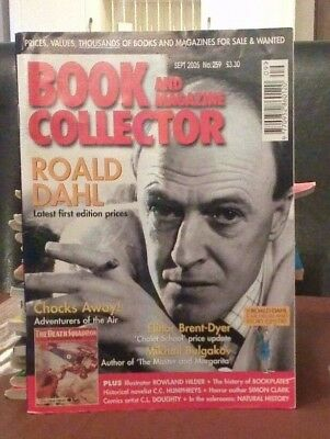 Book and Magazine Collector #259 Sept 05 Roald Dahl  Elinor Brent Dyer