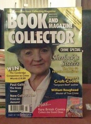 Book and Magazine Collector #318 March 10 Female Detectives