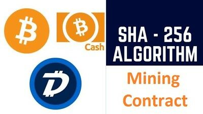 4 Hour-bitcoin mining contract 21TH/S SHA256 coins Antminer Crypto