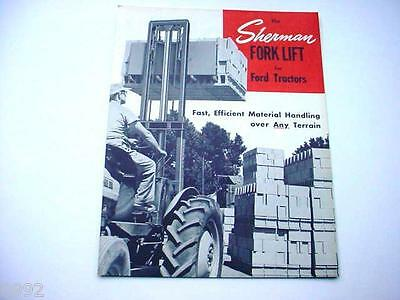 Sherman Forklift for Ford Tractors Brochure